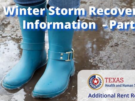 Texas Winter Storm Relief - Part 2