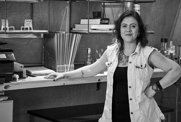 Juli Cossermeli do Galpão Arquitetura e Design