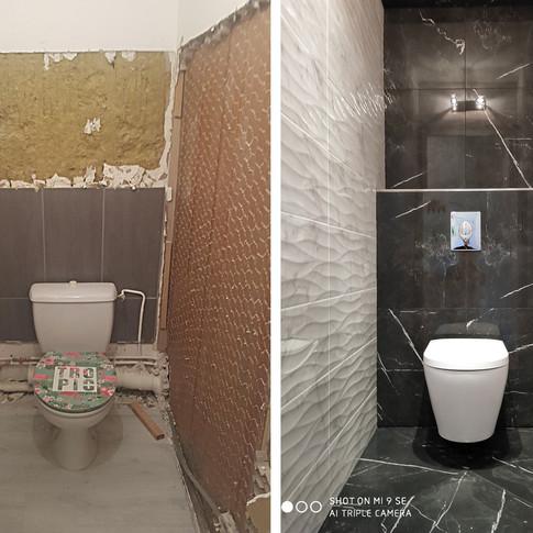 Création WC suspendu