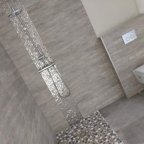 Conception et installation de douche à L'Italienne