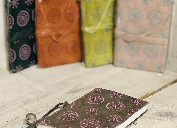 Suede Leather Pocket Notebook
