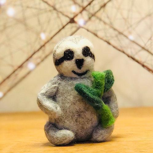 Decorative Felt Sloth