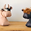 Thumbnail: Tubo The Bull Handmade Leather Doorstop
