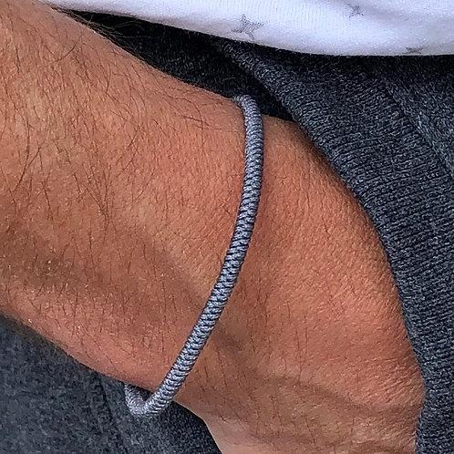 Unisex Lucky Rope Bracelet (grey)