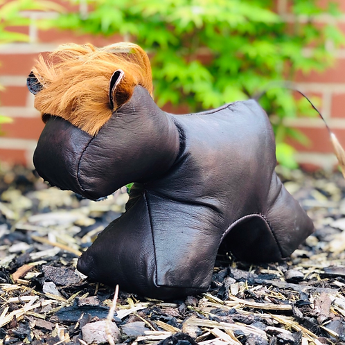 Tubo The Bull Handmade Leather Doorstop