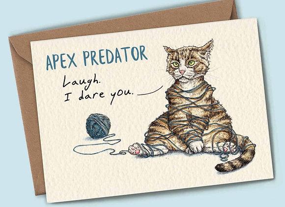 Apex Predator: Tangled Kitty Card