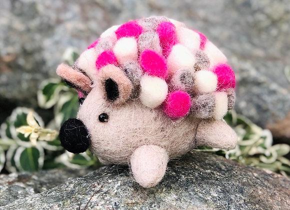 Decorative Felt Hedgehog