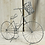 Thumbnail: Wire bicycle with basket