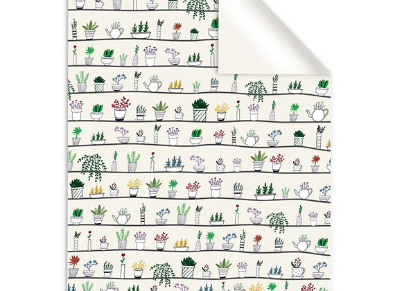 Mixed Plants Gift Wrap