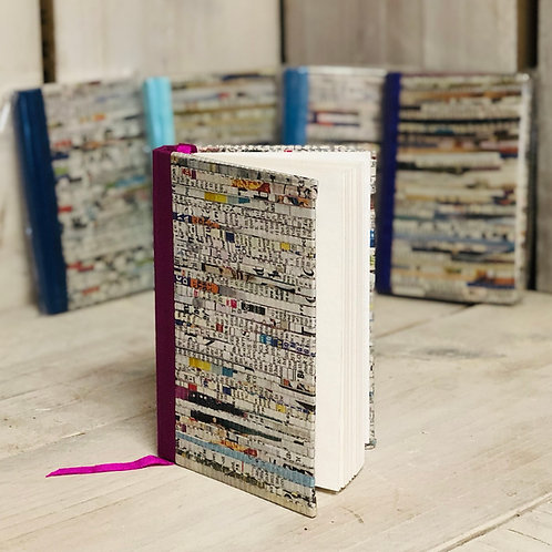 Recycled Paper Woven Notebook