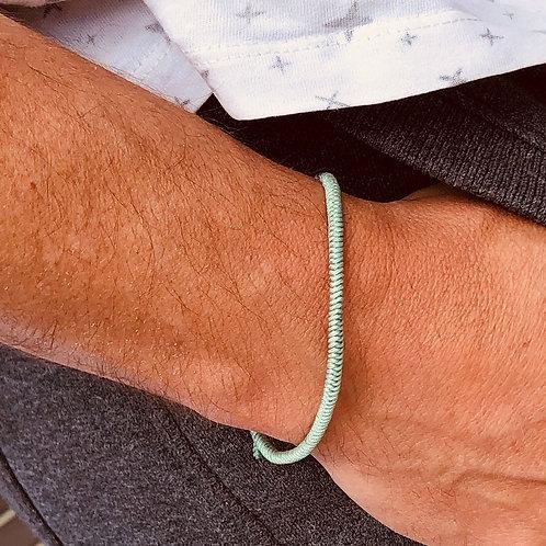 Unisex Lucky Rope Bracelet (mint green)