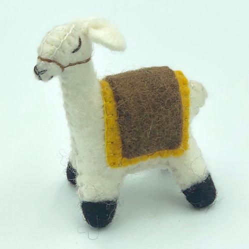 Decorative Felt Llama