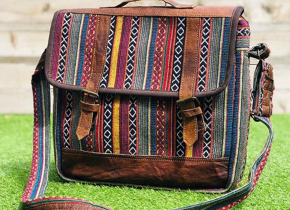Dhaka Fabric Messenger Bag