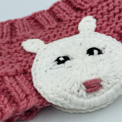 Knitted Rabbit Headband