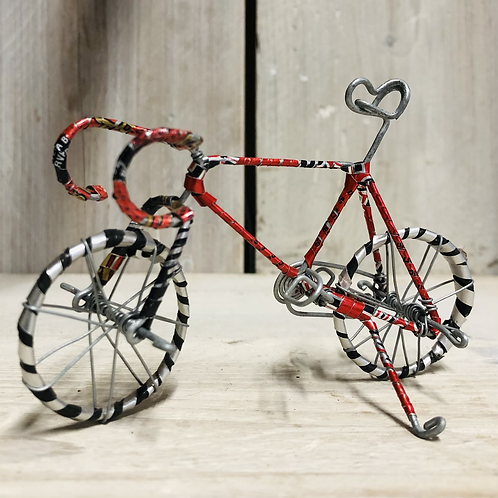 Wire road bicycle