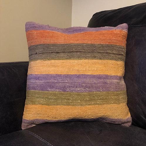 Handwoven Vintage Anatolian Kilim Cushion Cover