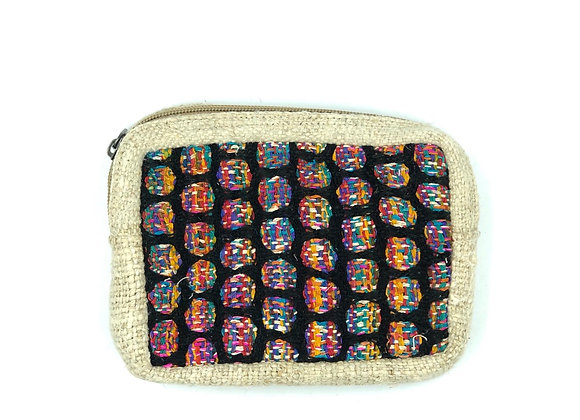 Hemp Cotton Purse/Cosmetics Bags
