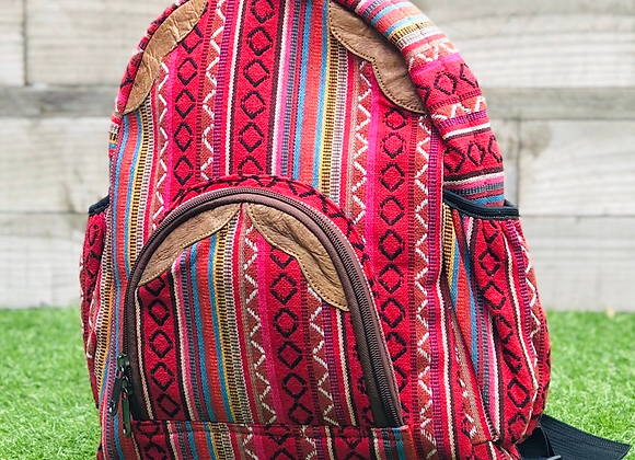 Dhaka Fabric Backpack