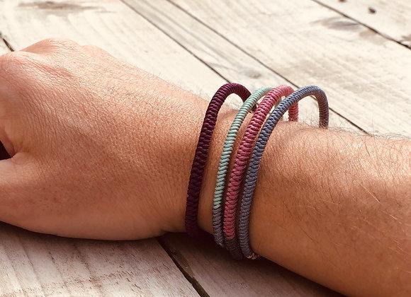 Set of 4 Lucky Rope Bracelets