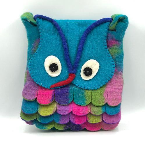 Felt Owl Cross Body Bag (6 available colours)
