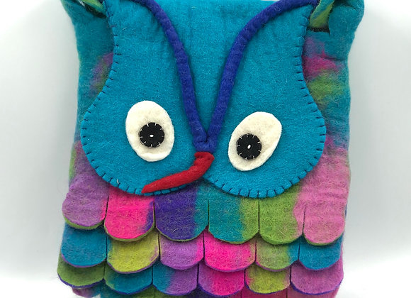 Felt Owl Cross Body Bag (available in 6 colours)