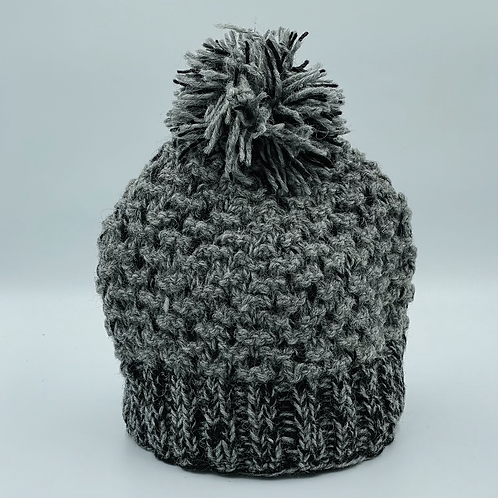 Handmade Wool Bobble Hat
