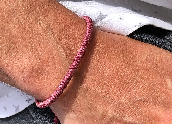 Lucky Rope Bracelet - Pink