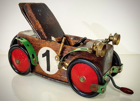 Upcycled Vintage Roadster Car #1