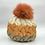 Thumbnail: Detachable Faux Fur Bobble Hat (2 colours)