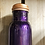 Thumbnail: Brushed Black or Purple Copper Water Bottle 750ml