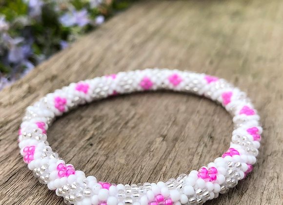 Glass 'Pote' Bead Bracelet