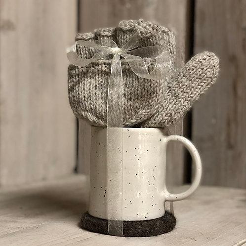 Glove, Mug & Coaster Gift Set