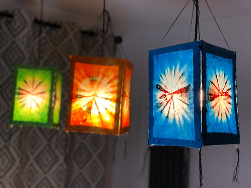 Lokta Paper Lamp Shade