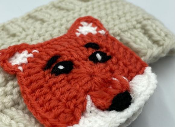 Knitted Fox Headband