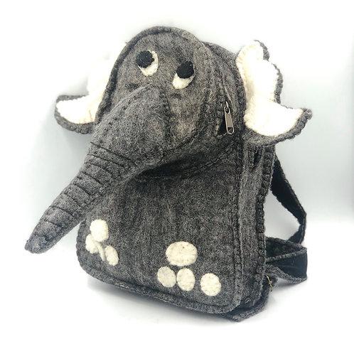 Felt Elephant Backpack