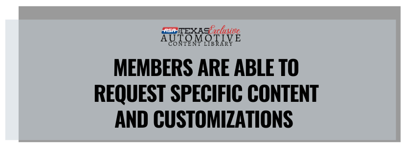 Automotive Custom marketing