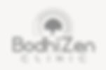 Bodhi Zen Logo with light grey backgroun