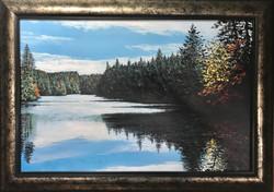 """""""The Lake at Dusk"""""""