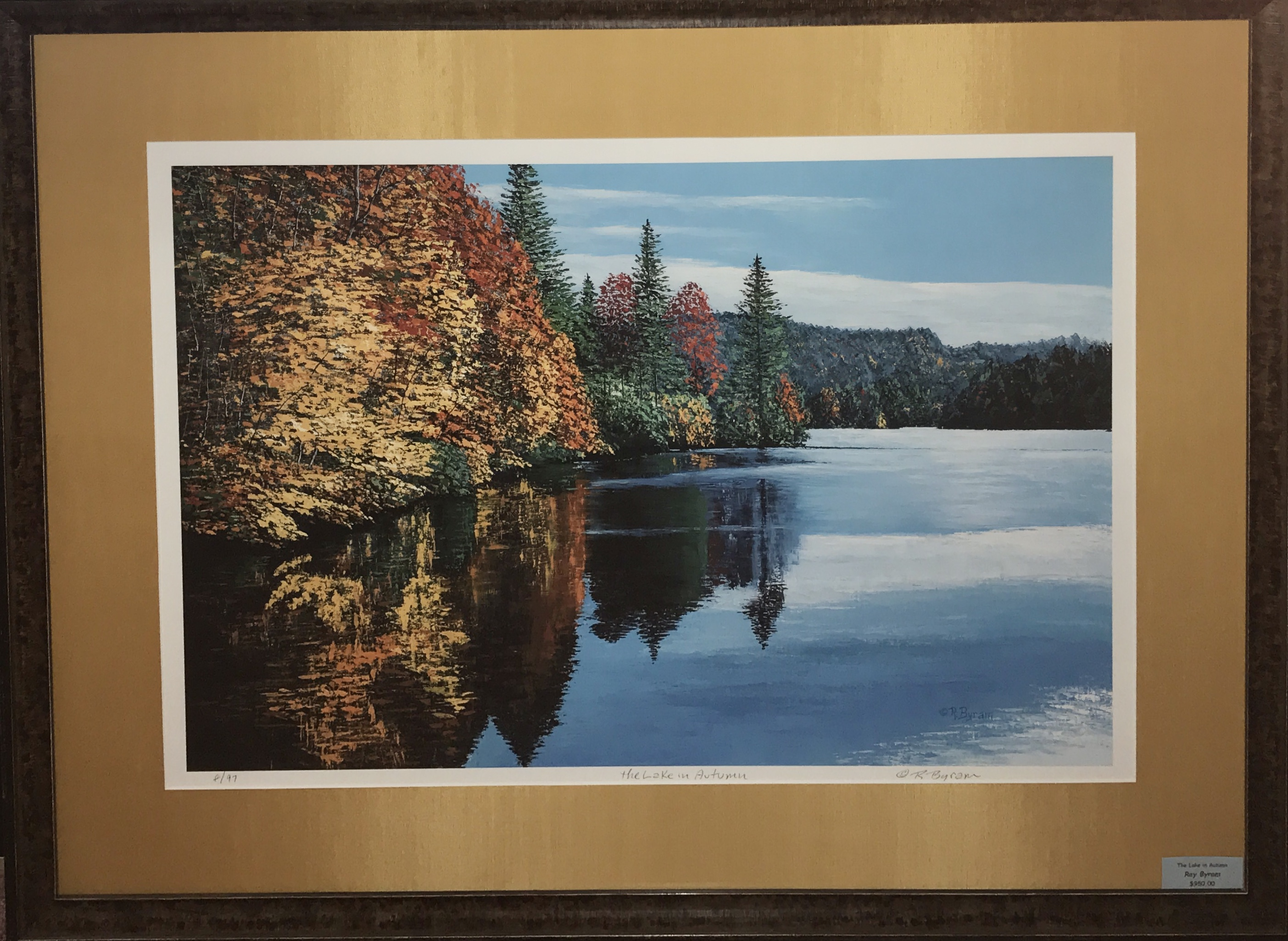 """The Lake in Autumn"""