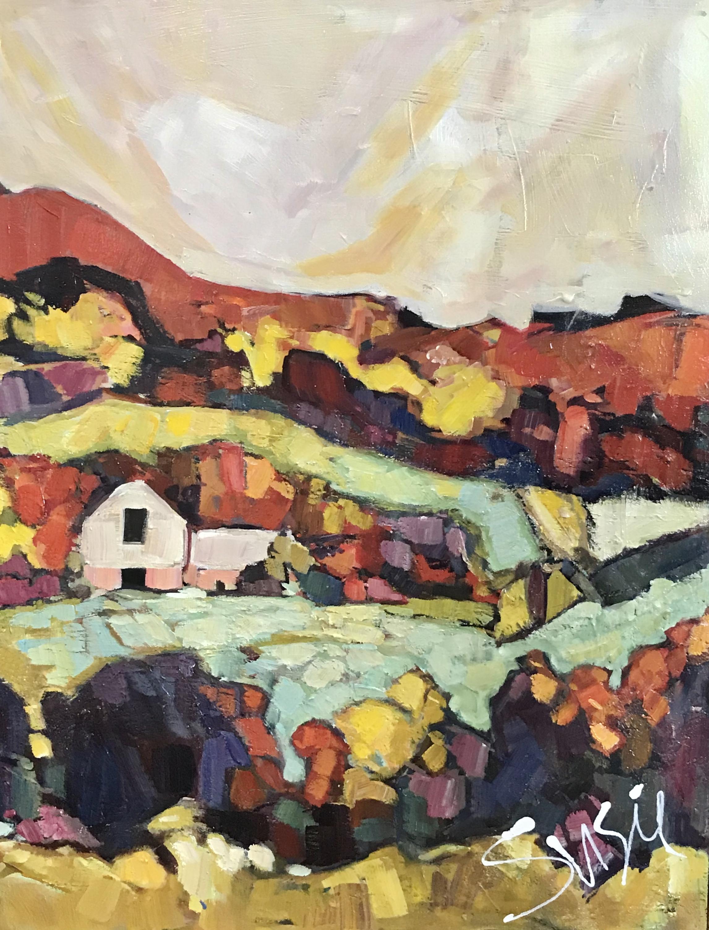"""""""Barn on Canvas"""""""