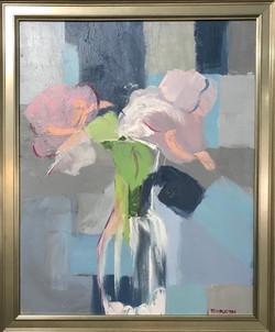 """""""Flowers in Blue"""""""