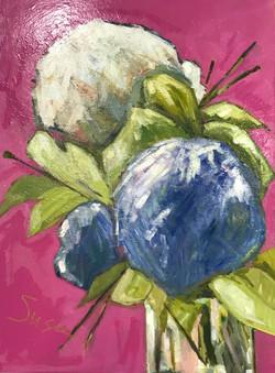 """Big Pink Hydrangeas"""