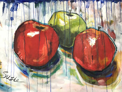 """""""Apples on Canvas"""""""