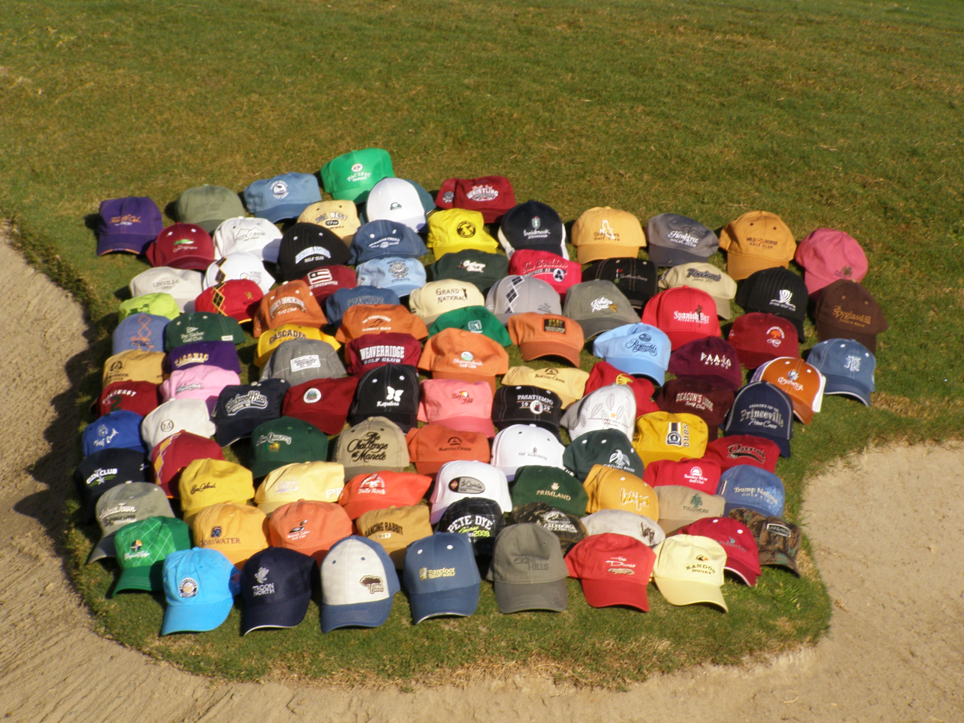 Top 100 Golf Hats