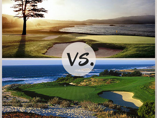 Pebble Beach Versus Spyglass Hill