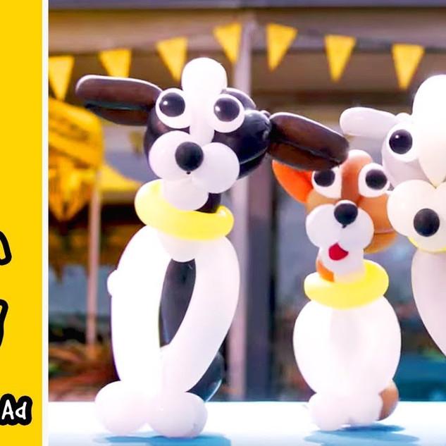 Dogs Trust    Little Balloon Doggy Advert