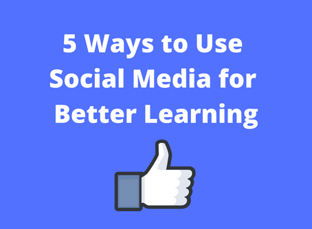 5 Ways to Use Social Media for Better Learning