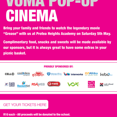 DEAL: Kibo + Vuma + Pop-Up Cinema = FUN!