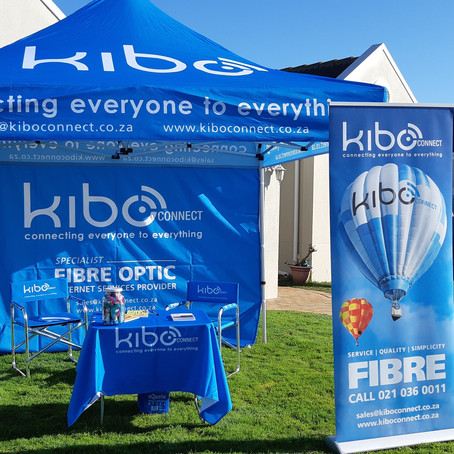 Look out for our Kibo team