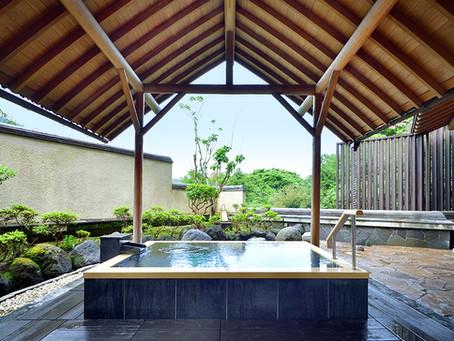 あうら橘 大浴場の露天風呂